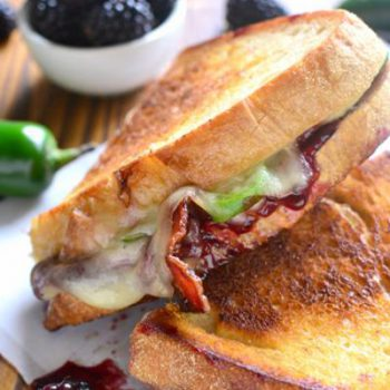 Berry Bacon Grilled Chs.
