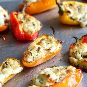 Stuffed, Roasted Peppers
