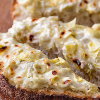 Chili & Artichoke Bread