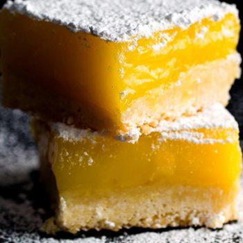 Sea Salt Lemon Bars