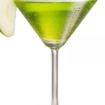 Spicy Olive Appletini
