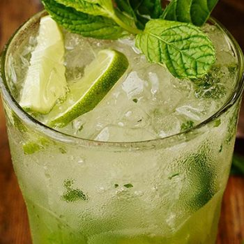 The Spicy Olive Mojito