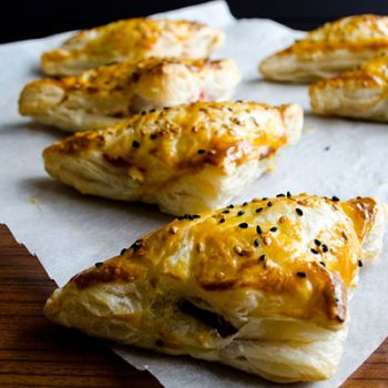 Turkey-Bacon Puff Pastry