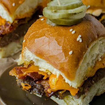 Hawaiian Roll Burgers