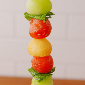 Boozy Melon Bites