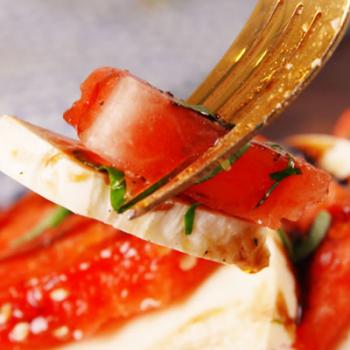 Watermelon Caprese