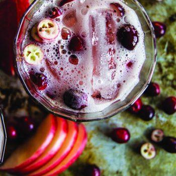Apple Cranberry Mule