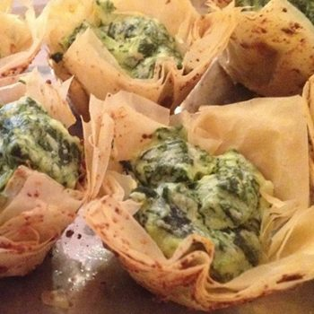 Spinach and Cheese Tartlets