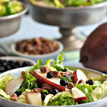 Pear & Greens Salad