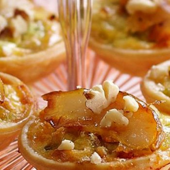 Cheese and Pear Tartlets