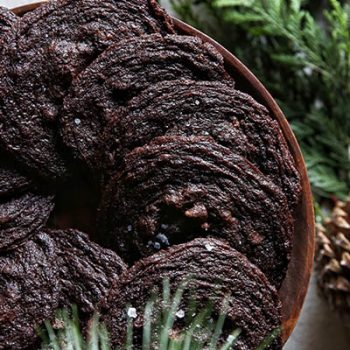 Sea Salt Cocoa Cookies