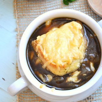 Guinness & Onion Soup