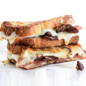 Bacon Grilled Gouda