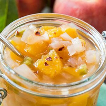 Sweet & Tangy Peach Relish