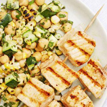 Swordfish Summer Salad