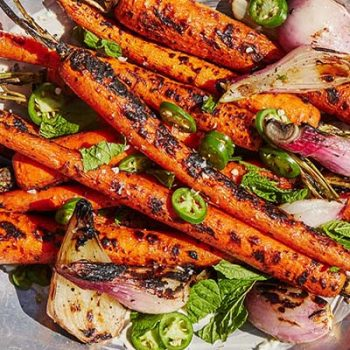Grilled Serrano Carrots