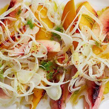 Peach & Fennel Salad