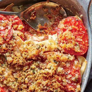 Tomato Gratin Lasagna