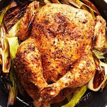 Cast-Iron Roasted Chicken
