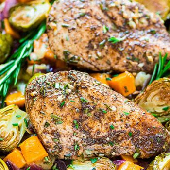 Sheet Pan Chicken & Veggies