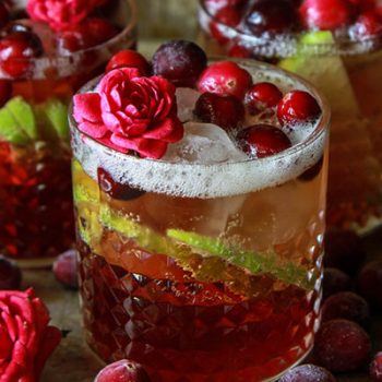 Apple Cranberry Mule