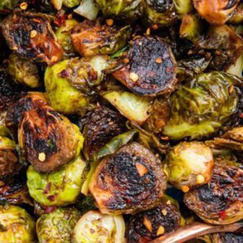 Honey Balsamic Brussels