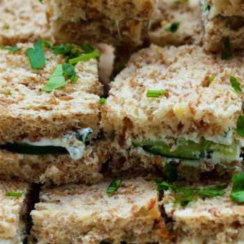 Goat Cheese Sandwiches