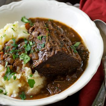 Wine-Braised Brisket