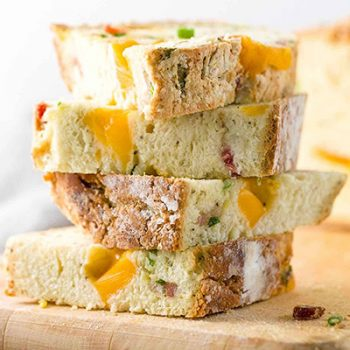 Cheddar Bacon Soda Bread