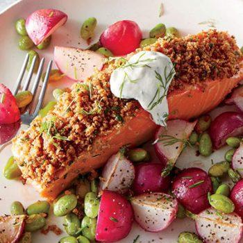 Dijon-Herb Salmon