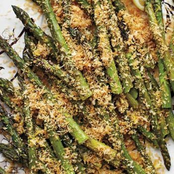 Roasted Lemony Asparagus