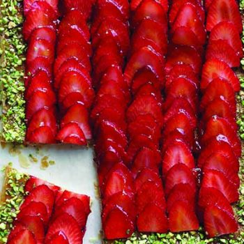 Strawberry-Pistachio Tart