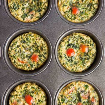 Quinoa & Spinach Muffins