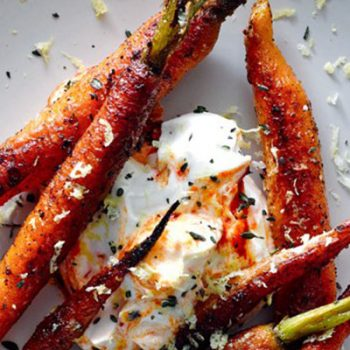 Spice Crusted Carrots