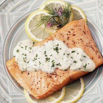 Lemon-Dill Roasted Salmon