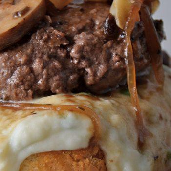 Shepherd's Pie Burgers