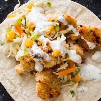 Vegan Baja Tacos