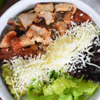 Copycat Chipotle Bowl