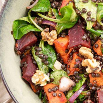 Beet & Sweet Potato Salad