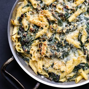 Spinach Mac & Cheese