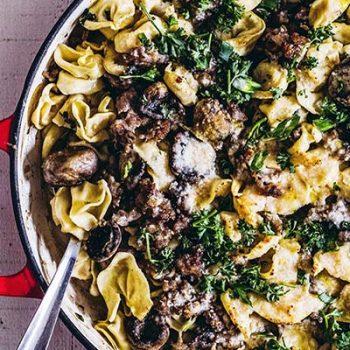 Mushroom & Pasta Skillet