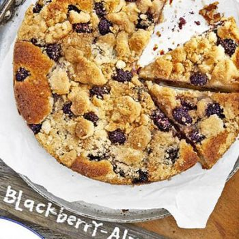 Blackberry Almond Buckle