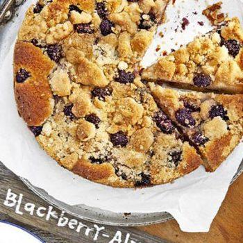 Blackberry Almond Buckle