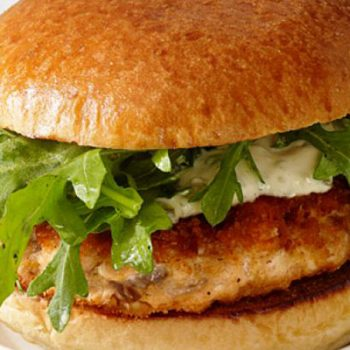 Red Pepper Salmon Burgers