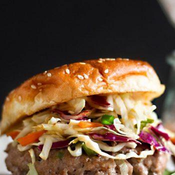 Sesame Pork Burgers
