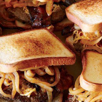 Gouda & Bacon Burgers