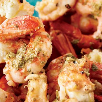 Oregano & Lemon Shrimp
