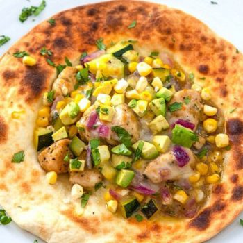 Chicken & Veggie Tostadas