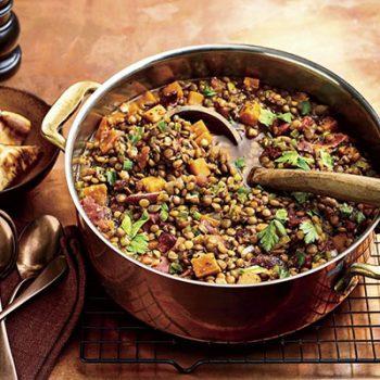 Sweet Potato-Lentil Soup