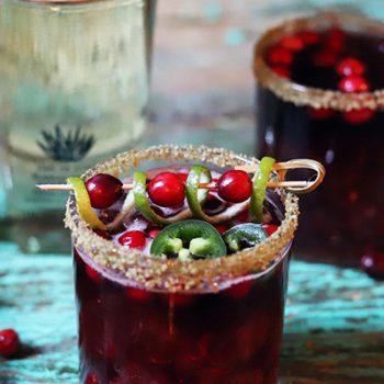 Cran-Jalapeno Margarita
